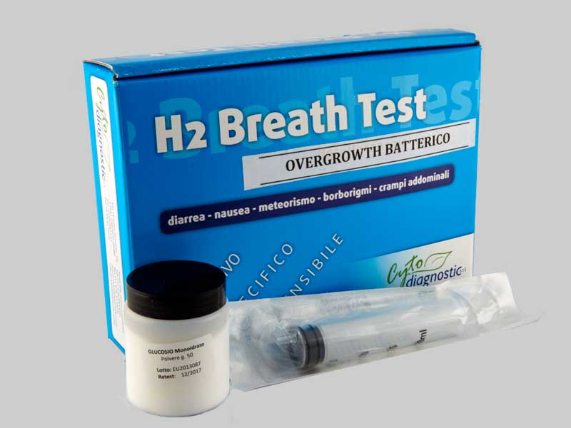 H2 Breath Test - intolleranza al lattosio